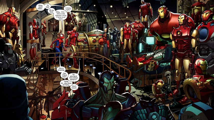 Iron_Man_comics_Tony_Stark_Marvel_Comics_Ultimate_Spider_Man_1920x1080