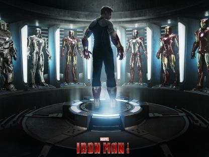 «Железный человек», 1 и 3 фильмы трилогии [2008, 2013; Джон Фавро, Шейн Блэк; США]